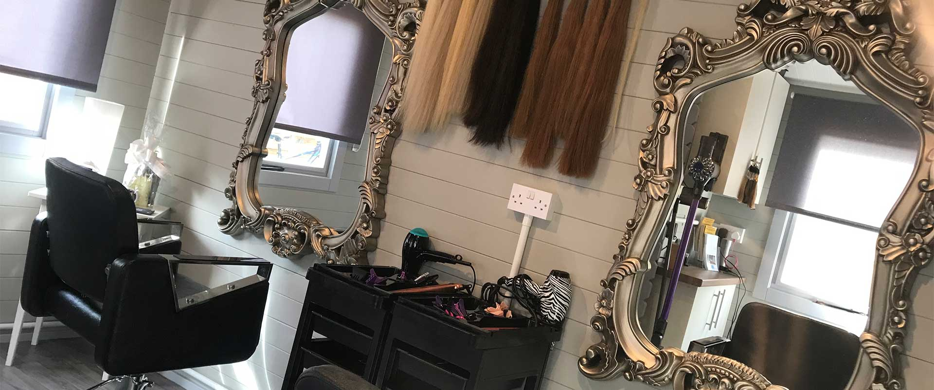 Extend and Create Home Salon
